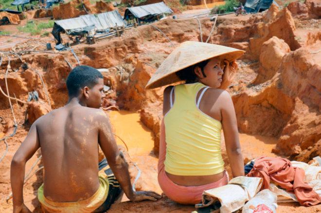 Imagen de 'Armando.info' sobre la mayor mina de oro de Venezuela.