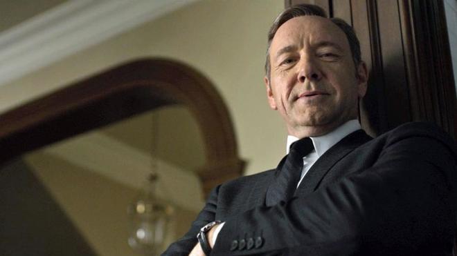 Kevin Spacey, en su papel de Frank Underwood en la serie 'House of Cards'