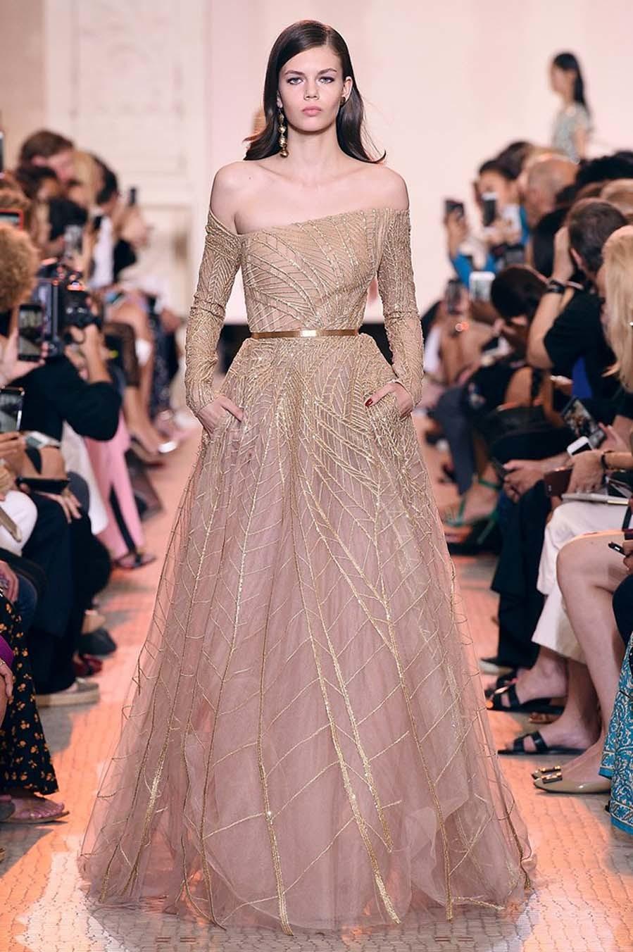 Elie Saab, la forma y la luz convertida en vestidos de Alta Costura ...