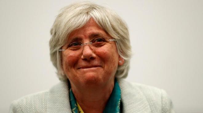 La ex consejera de Educación de la Generalitat, Clara Ponsatí