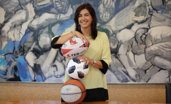 María Jose Rienda, en la sede del CSD en Madrid.