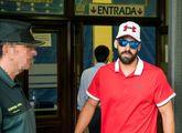 Antonio Manuel Guerrero, a su llegada al juzgado de guardia de...