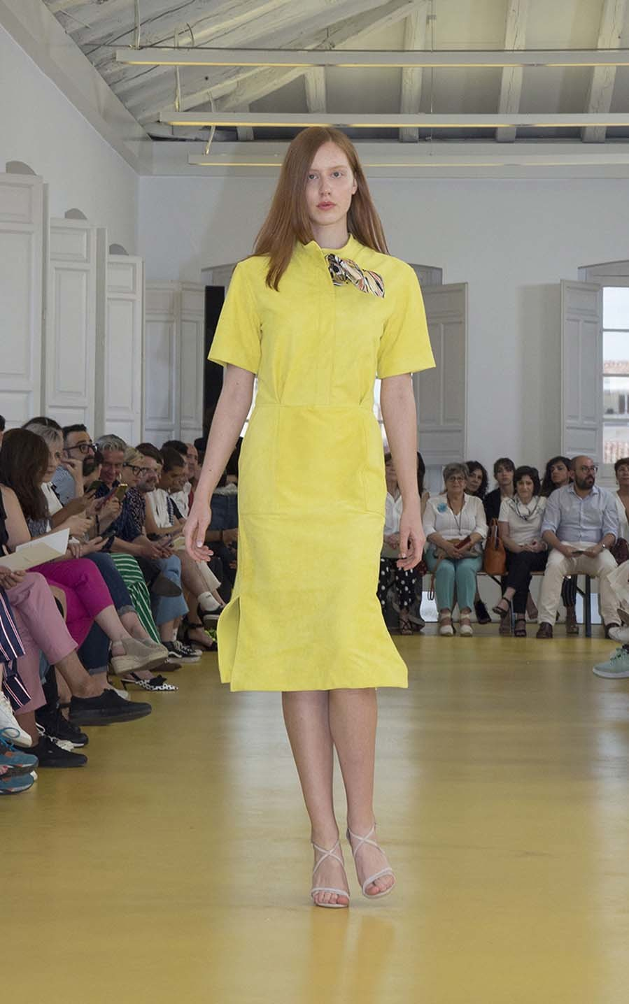 Desfile de Lexdeux - Mercedes-Benz Fashion Week Madrid -...