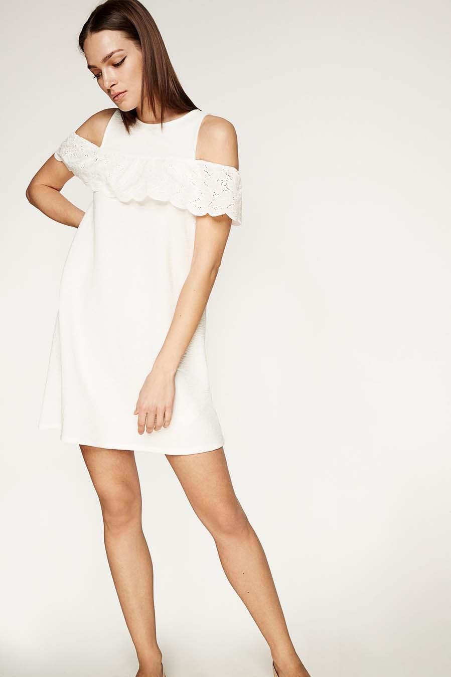 calidad y cantidad asegurada mejor selección de 2019 descuento en venta 15 vestidos blancos para un 'look' premamá de verano ...