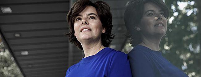 Soraya Saénz de Santamaría, candidata a la Presidencia del PP.