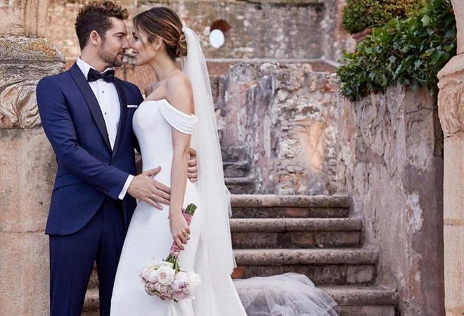 descubre el segundo (y sorprendente) vestido de novia de rosanna