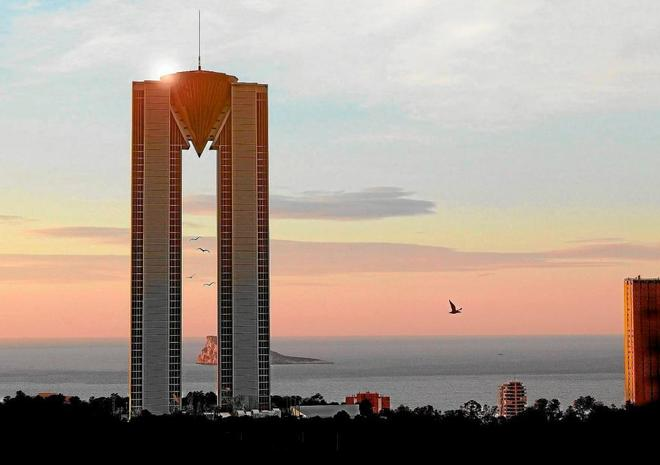 El InTempo, el rascacielos 'eterno' de Benidorm