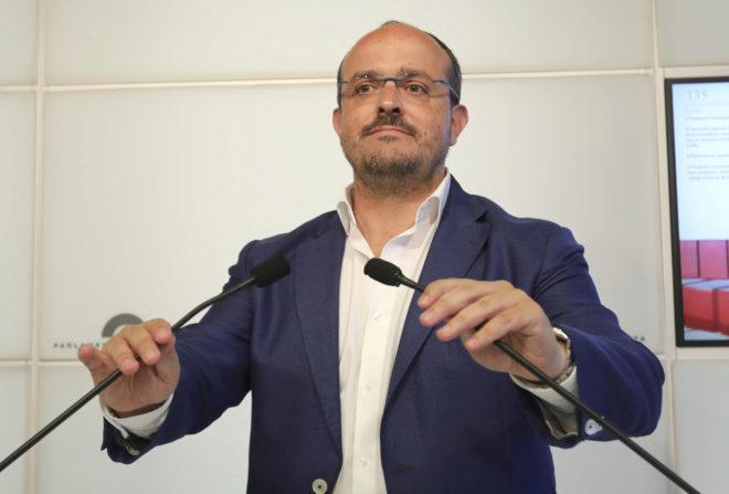 El diputado del PP en el Parlament y presidente del partido en Tarragona, Alejandro Fernández.
