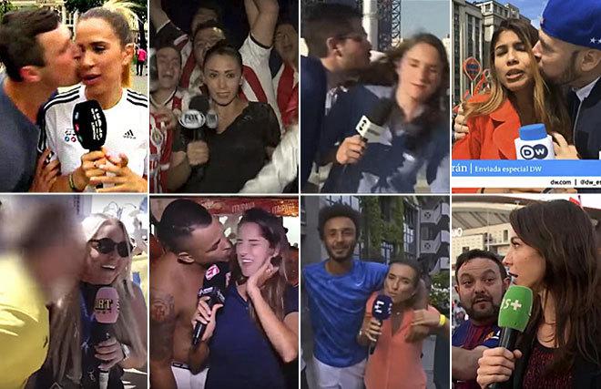 Episodios de acoso a reporteras deportivas en el Mundial de Rusia y en...