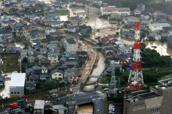 Japón no vivía un desastre así desde agosto de 2014,