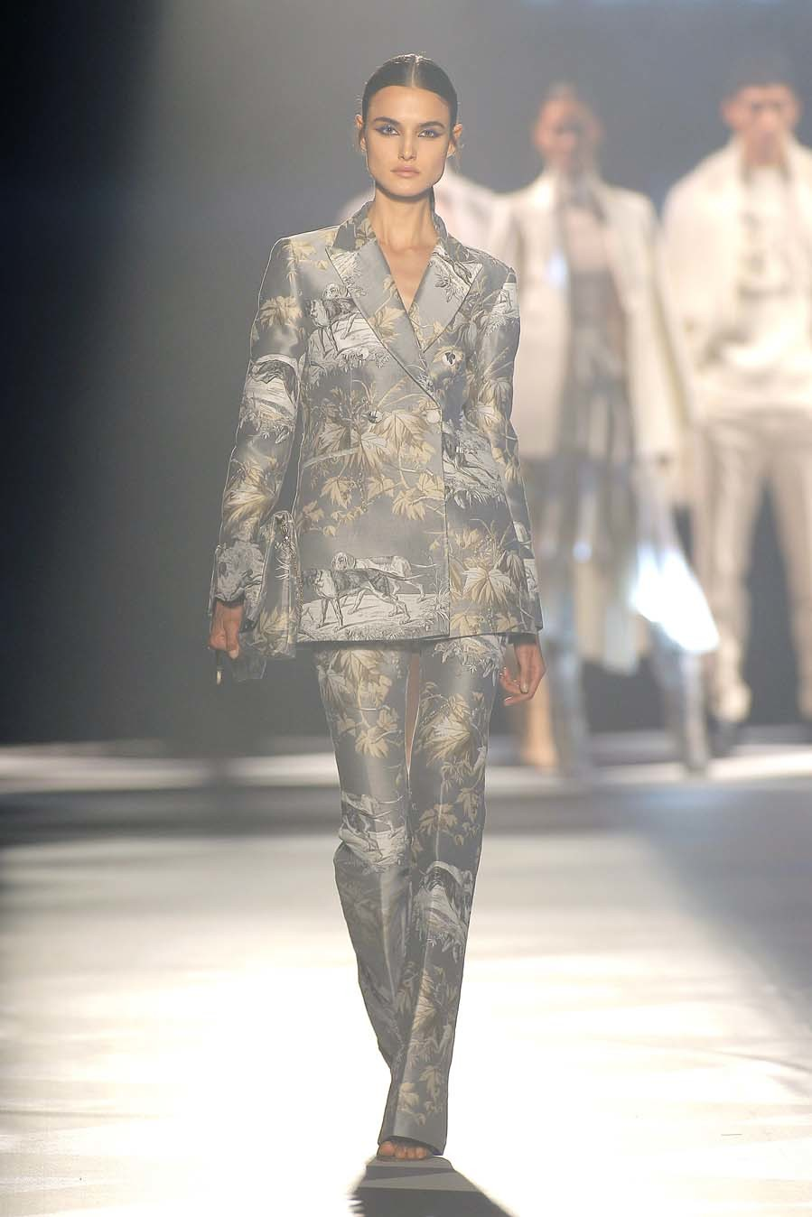 Desfile Pedro del Hierro - Mercedes Benz Madrid Fashion Week -...