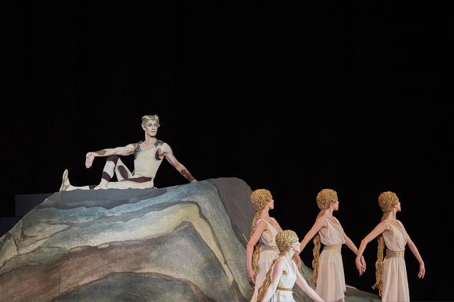 Una imagen de la representación en Granada.