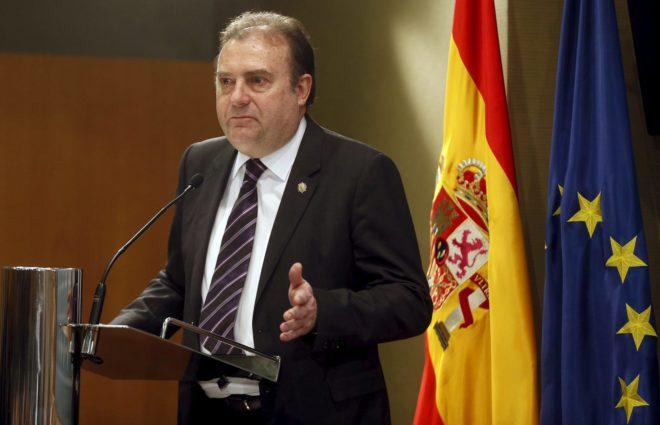 Jose Luis Olivera, durante su toma de posesion como nuevo director del...