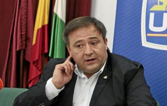 El líder de la Unión Federal de la Policía (UFP), Víctor Duque