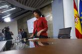 La ministra de Educación y portavoz del Gobierno, Isabel Celaá, en...