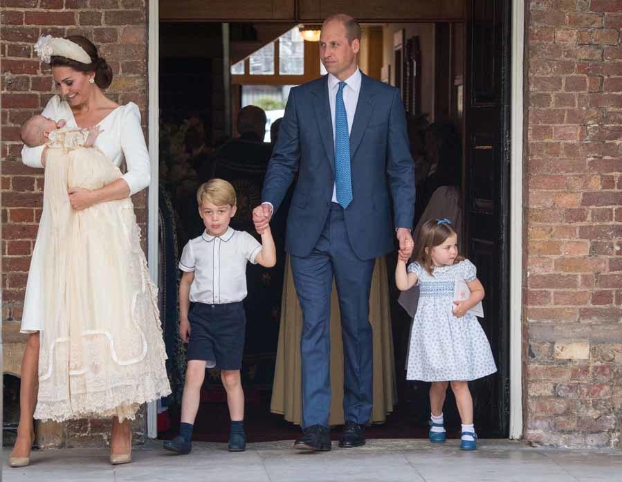Los hijos mayores de los duques de Cambridge llevaron diseños made...