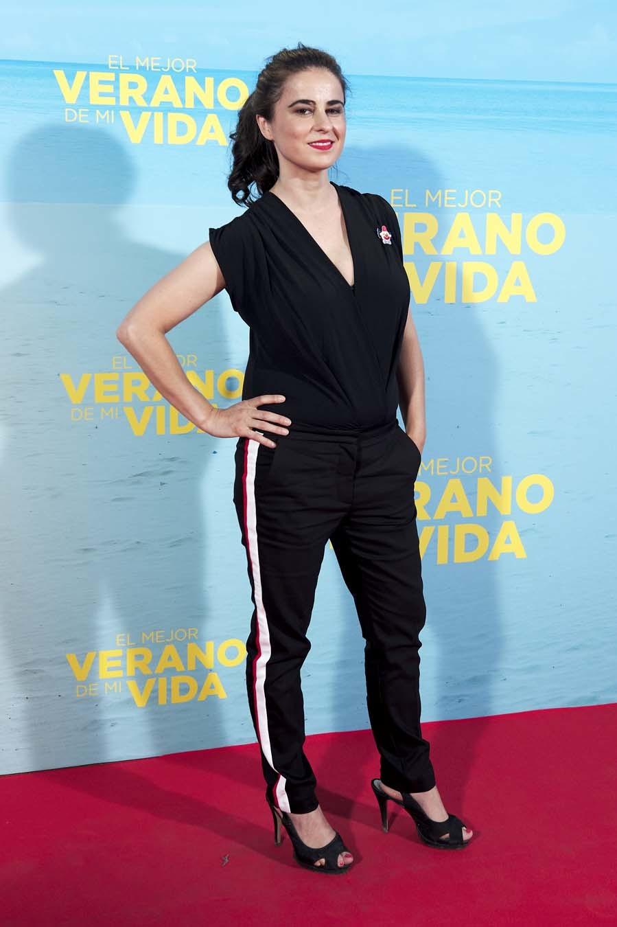 Inés La Maga en la premiere de El mejor verano de mi vida en Madrid