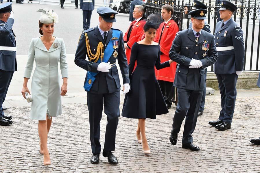 La agenda de los duques de Cambridge y los de Sussex va en aumento, y...