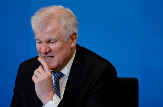 El ministro alemán del Interior, Horst Seehofer.