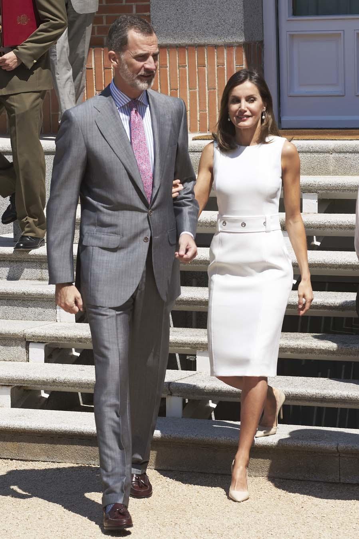 La Reina ha incorporado a su armario de verano un nuevo vestido con...