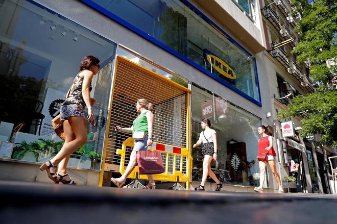 Ikea, Leroy Merlin... los gigantes del extrarradio 'se mudan' al centro urbano