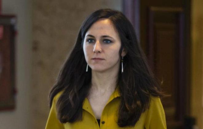La diputada de Podemos e impulsora de la ley contra violencias sexuales, Ione Belarra