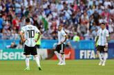 Messi durante el Mundial de Rusia.