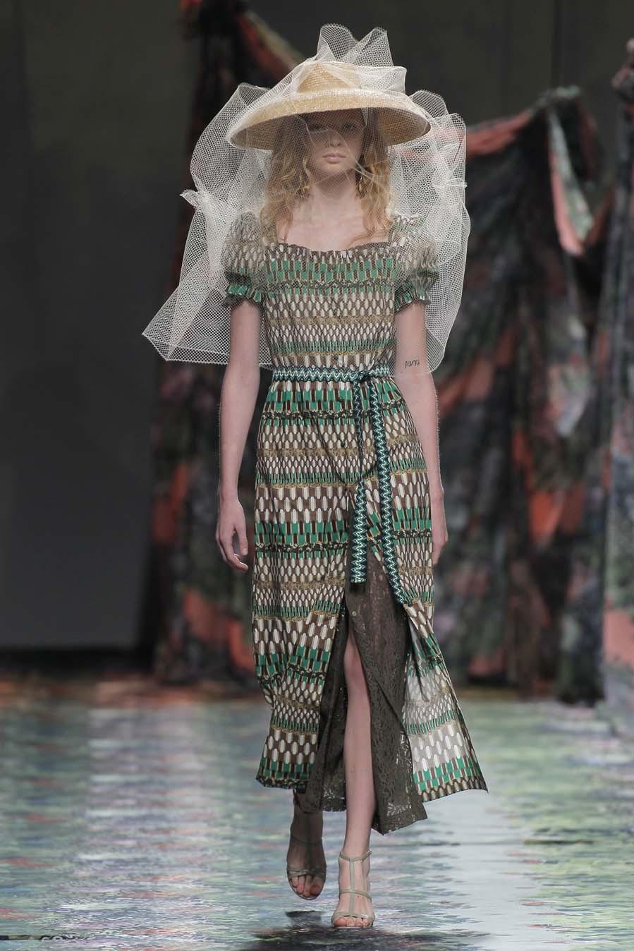 Desfile de Ailanto - Madrid Fashion Week - Colección primavera-verano...