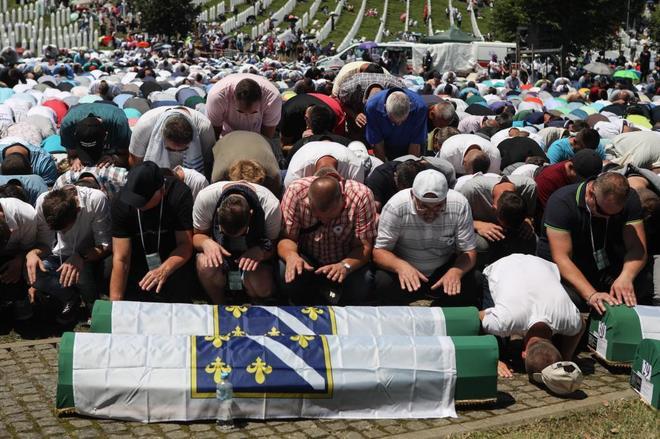 UNION EUROPEA: recuerda el genocidio de Srebrenica para evitar que se repita un hecho similar