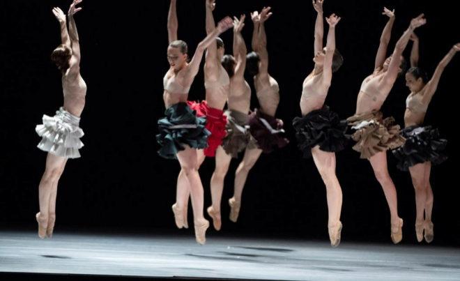 La Compañía Nacional de Danza, en el marco del Festival Internacional de Música y Danza de Granada.
