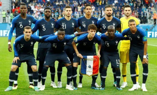 ff0becbf5 Mundial 2018  Seis equipaciones distintas como talismán para Francia ...