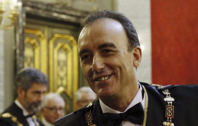 El presidente de la Sala de lo Penal del Tribunal Supremo, Manuel...