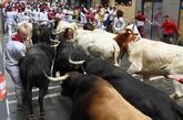 Ha sido la novena vez que los astados de esta ganadería corrían por...