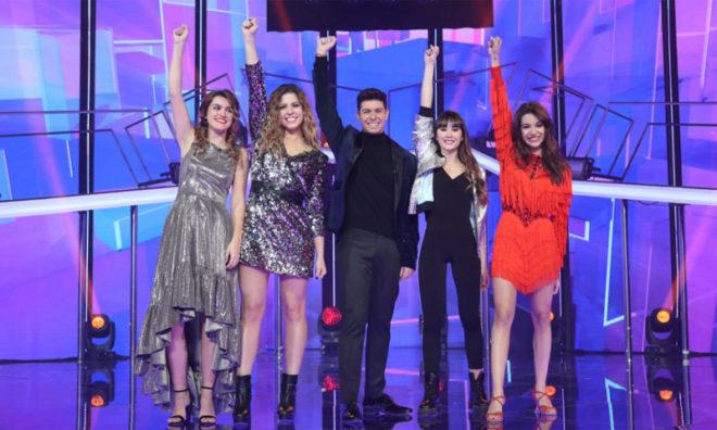 Los finalistas de la pasada edición de 'Operación Triunfo'.