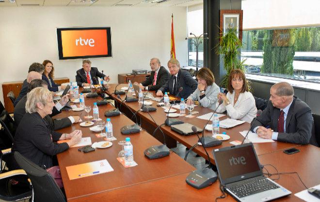 Reunión del consejo de administración de RTVE.