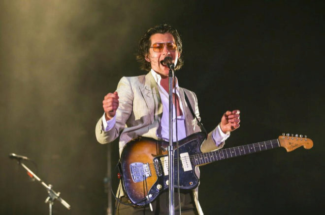 Alex Turner, cantante de la banda británica Arctic Monkeys