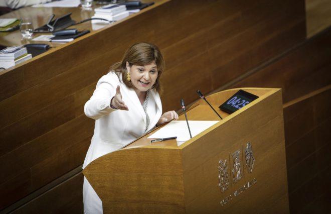 La presidenta del Partido Popular valenciano, Isabel Bonig.