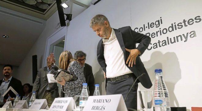 El abogado de Carles Puigdemont, Andreu Van Den Eynde