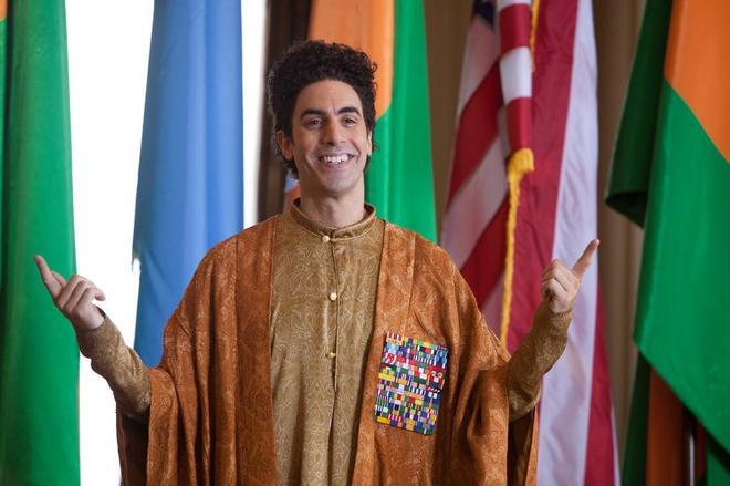 Sacha Baron Cohen, en 'El dictador'.