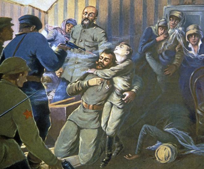 HISTORIA: ien años de la masacre de los Romanov en la jaula de Ekaterimburgo
