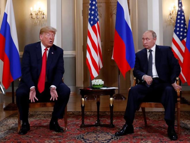 HELSINKI: Primera reunión bilateral entre Trump y Putin