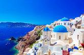 <strong>La puesta de sol más hermosa de Grecia. </strong>. A pesar de...