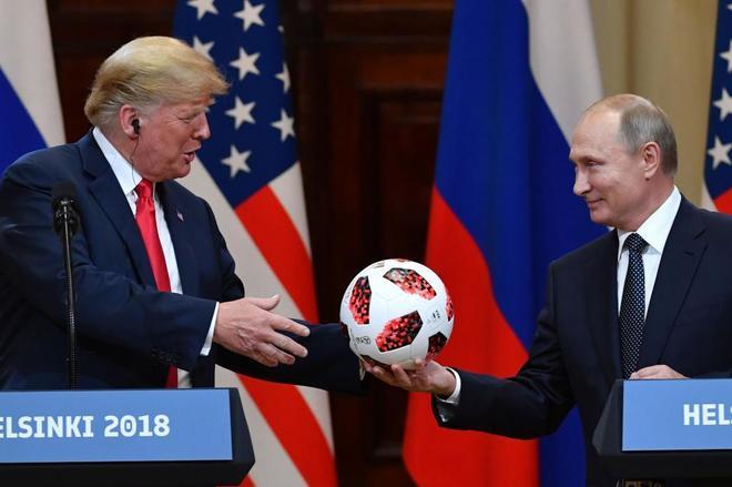 Primera reunión bilateral entre Trump y Putin: