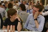 Los dos candidatos a presidir el PP, Soraya Sáenz de Santamaría y...