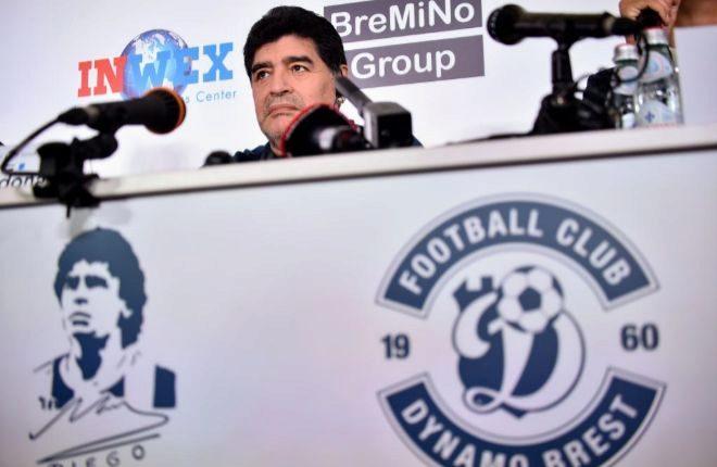 Diego Maradona asumió este lunes la dirección del Consejo Ejecutivo
