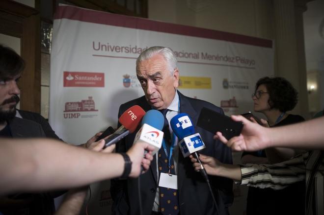 El presidente del Consejo Económico y Social, Marcos Peña