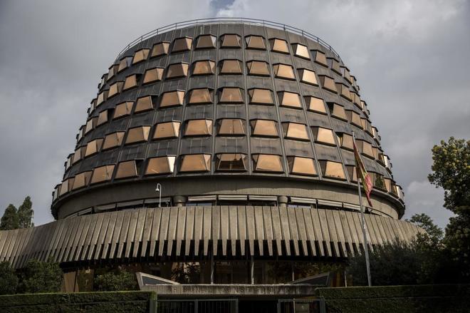 Edificio del Tribunal Constitucional en Madrid