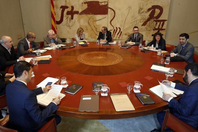 Reunión del consell de Govern de hace una semana