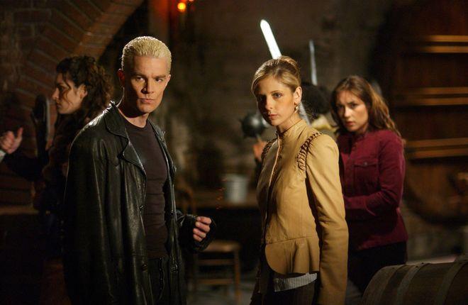 Escena de la serie 'Buffy, cazavampiros'.