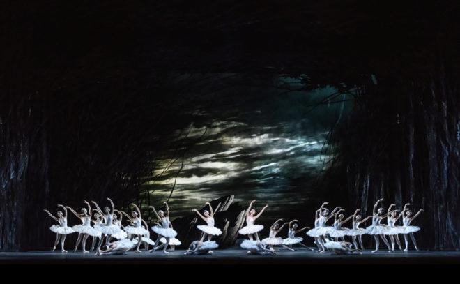 El lago de los cisnes de el Royal Ballet